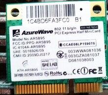 AzureWave AW-NE785H AR5B95 AR9285 Metade Mini PCI-e WLAN Sem Fio Wi-fi Cartão