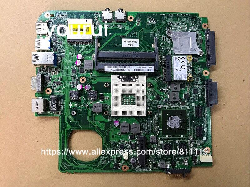 Материнская плата yourui DA0FJ8MB6F0 для Fujitsu LIFEBOOK LH532 DDR3 GT620M 2 Гб s989, работает с материнской платой
