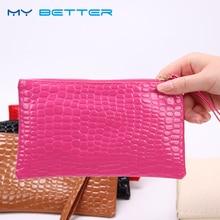 купить 1PC Women Clutch Zipper Wallet Large Capacity Wallets Female Purse Lady Purses Phone Pocket Card Holder Carteras More Color по цене 33.87 рублей