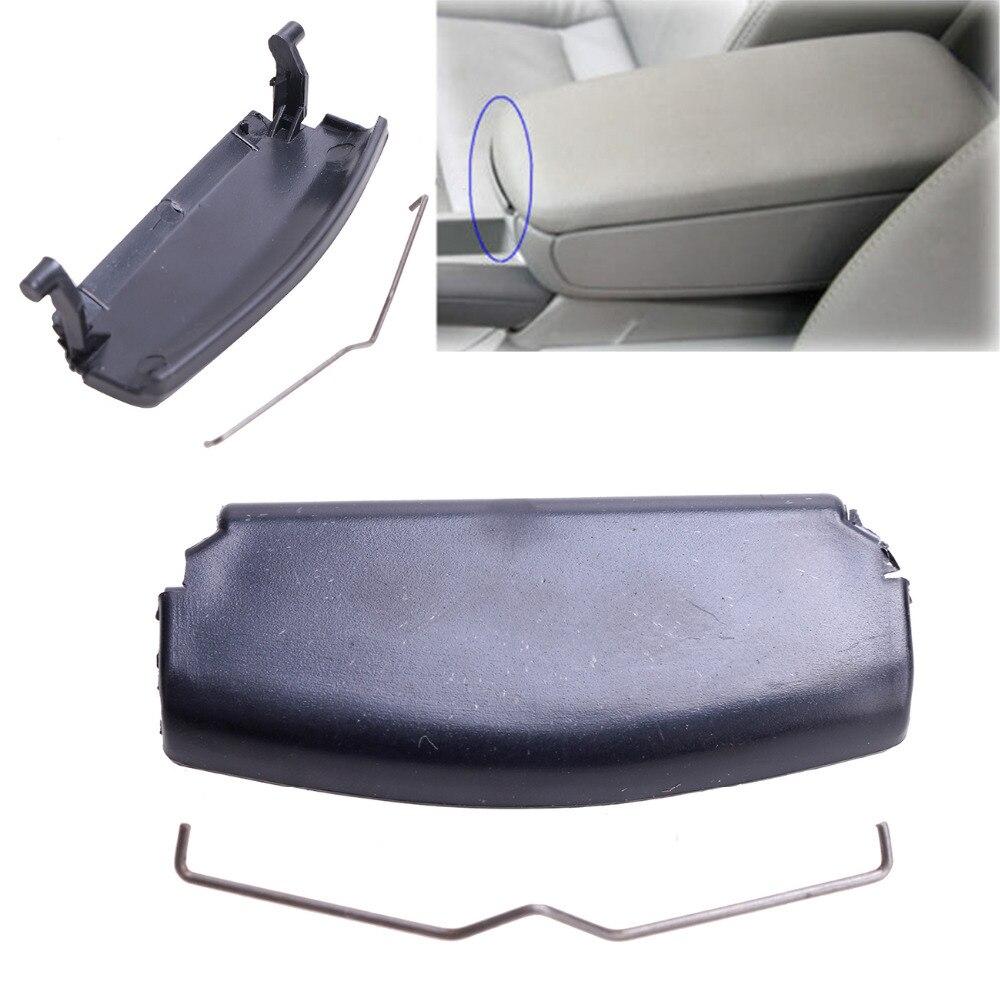 Black Car Center Console Cover Armrest Lid Latch Clip For