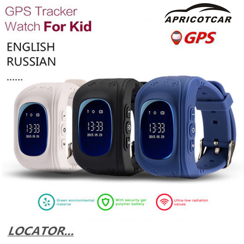 GPS Smart Child Locator English Version of The OLED Display SOS Phone Location Search Device LBS / GPS Tracker Loss of Baby