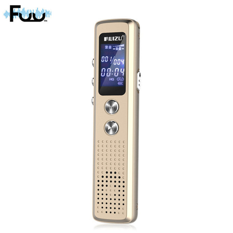 8GB Mini Digital Audio Voice Recorder Dictaphone with Microphone HD noise reduction MP3/WAV Player Professional Recording Pen