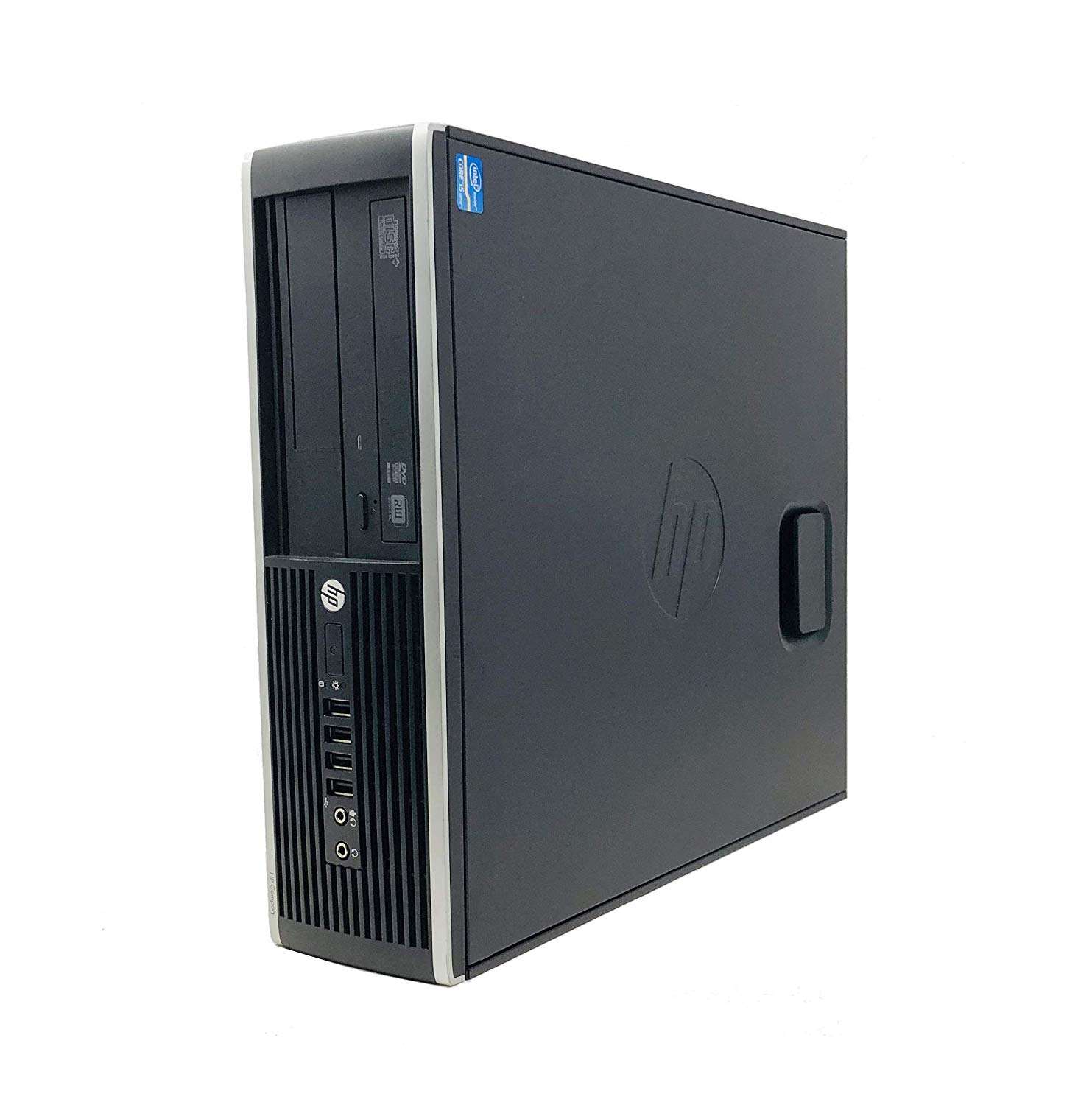 HP 8200 - Ordenador De Sobremesa (i5-2400, 8GB  RAM, HDD 250GB,  DVD, Windows 10 HOME) - Negro (Reacondicionado)