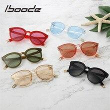 Очки iboode детские «кошачий глаз», Винтажные Солнцезащитные очки для маленьких детей, для мальчиков и девочек, большие милые солнечные очки «...