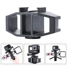 Стойка для видеоблога VIJIM, крепление для холодной обуви, 1/4 дюйма, винт для экшн камер GoPro Hero 7 6 5 SJcam DJI Osmo, для GoPro Hero 7 6 5