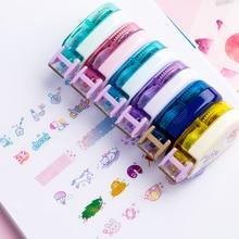 Ins Unicorn Travelling Decorative Pen Correction Tape Diary