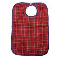 High Quality Waterproof Large Adult Mealtime Bib Clothes Clothing Protector Dining Cook Apron Ajustable