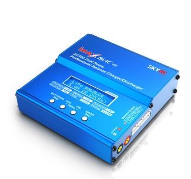 Original SKYRC iMAX B6AC V2 6A Lipo Carregador do Contrapeso Da Bateria Display LCD carregador de bateria Descarregador RC Modelo Re-pico modo imax