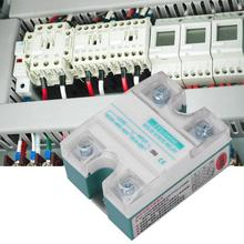 цена на ZYG-D4860 solid state relay DC-ACSingle-Phase Solid State Relay with LED Tube Indication 4-32V 60A Input