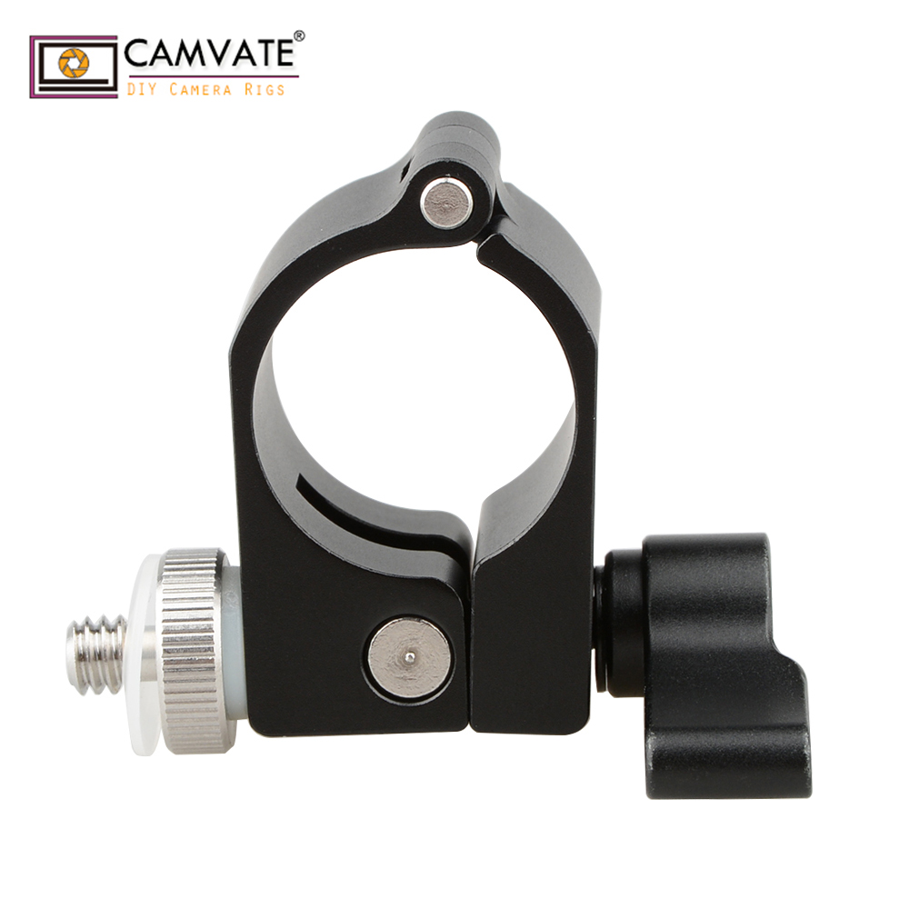 "mount accessory w CAMVATE Accessory Mount Ersatzteil 25mm Rod Hole w/ 1/4""-20 Screw for DJI Ronin-M C1258 camera photography accessories (3)"