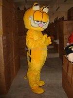HOT Custom Products Plush Cartoon Character Costume mascot Garfield super lovely free shipping