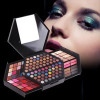 Newest Professional Makeup Kit Shimmer Eyeshadow Palette And Matte Color Highlighter Powder For Face Concealer Blush