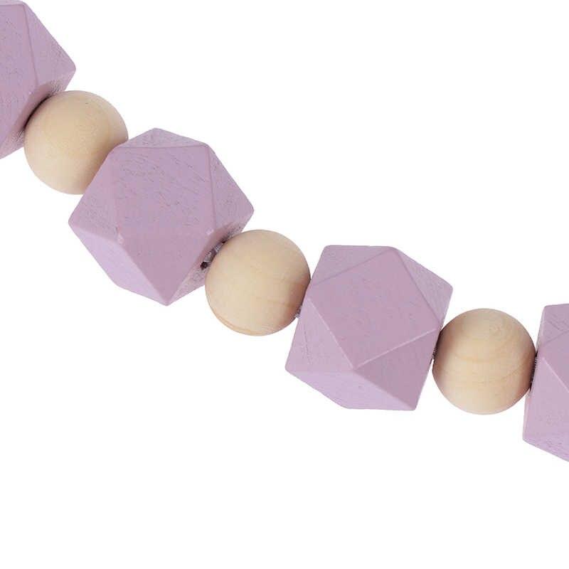 Для ручной работы Силиконовая цепи соски безопасная цепочка для прорезывания зубов детский Прорезыватель Экологичные соски зажимы держатель цепи аксессуары