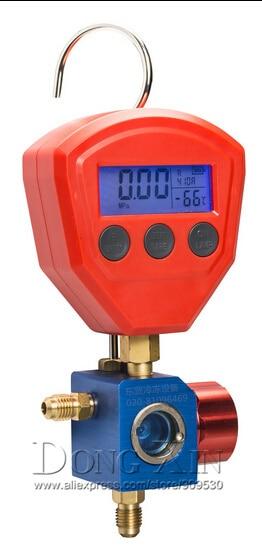 Air conditioning refrigerant table refrigerant single head pressure gauge Digital refrigerant table HS-471A-5100 high pressure  цены