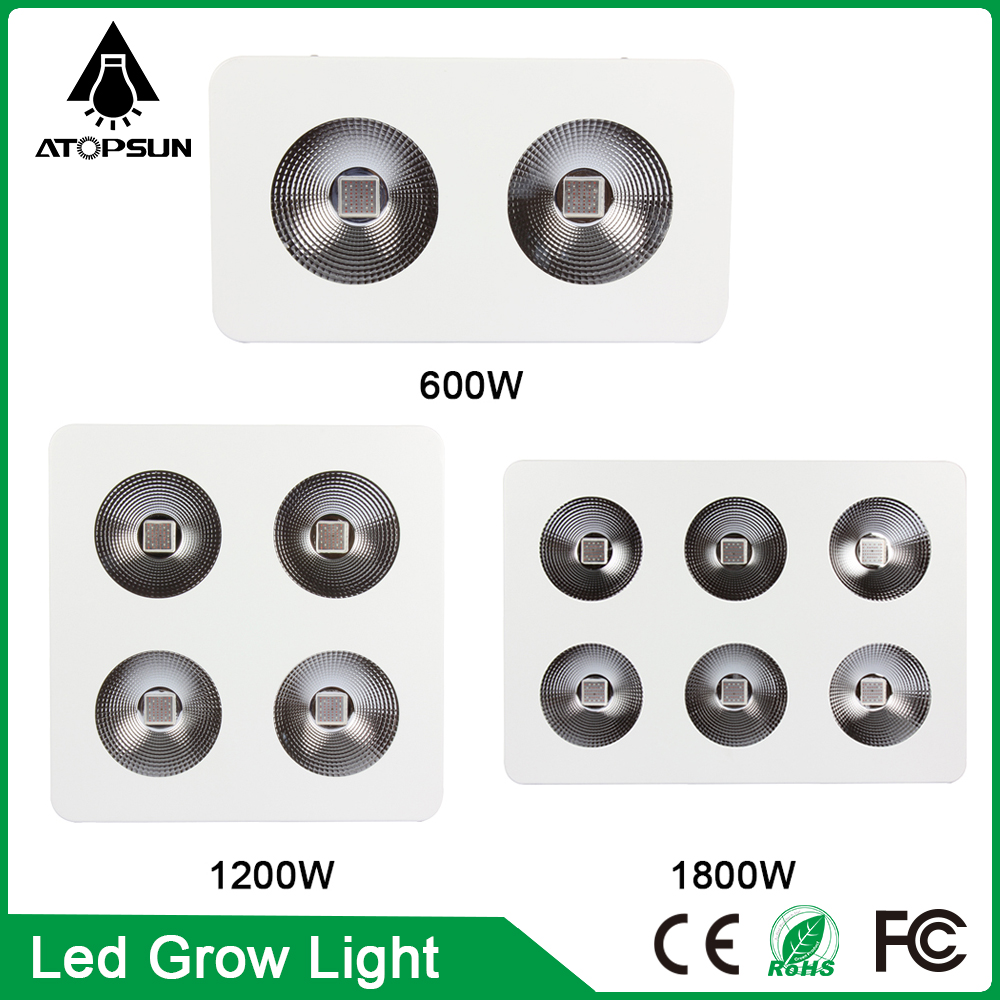 1pcs Full Spectrum Led Grow Light 600W 1200W 1800W COB Led Grow Light  for Hydroponics System Flowering Veg Lamp led for plants