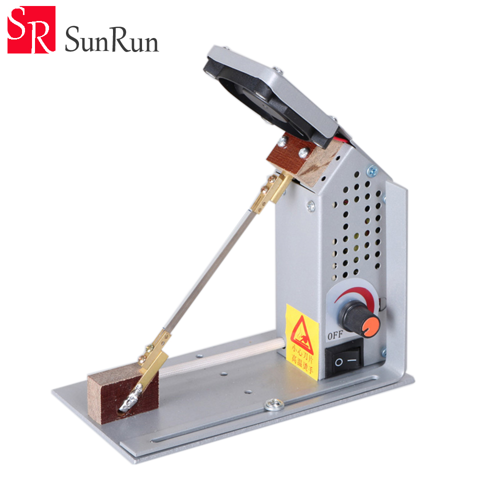 Adjustable YC-18 temperature electrothermal cutting machine 220V Ribbon cutting machine nylon satin heating cutting machineAdjustable YC-18 temperature electrothermal cutting machine 220V Ribbon cutting machine nylon satin heating cutting machine