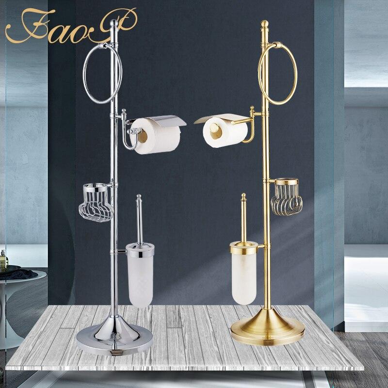FOAP аксессуары для ванной набор хромированный держатель для ванной комнаты держатель для салфеток аксессуары для ванной комнаты Набор туал...