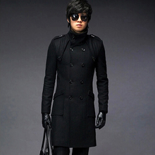 Wholesale & Retail men's Trench Coat With Good Quality Plus