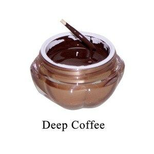 Image 4 - קעקוע דיו 1 יחידות עמוק קפה קבוע איפור פיגמנטים קעקוע פיגמנט לגבות שפתיים Microblading