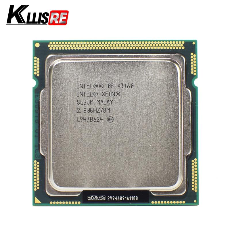 Процессор Intel Xeon X3460, 2,8 ГГц, 8 Мб, четырехъядерный, разъем LGA1156