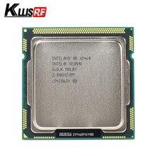 Processador do soquete lga1156 do núcleo do quadrilátero de intel xeon x3460 2.8ghz 8m