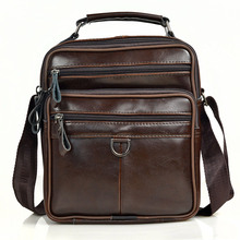 Men Genuine Leather Messenger Bags Male Cow Oil Wax Leather Handbags Men Fashion Crossbody Bag Young Boy Business Briefcases цена в Москве и Питере