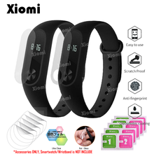 10Pcs/Lot(5Films+5Wipes)For Xiaomi Mi Band 2 Band2 Miband 2 Wristband Anti-scratch Matte Protective Film Screen Protector Cover 1 2 5 6 pcs anti scratch ultra clear protective film guard for fitbit charge 2 wristband full screen protector cover