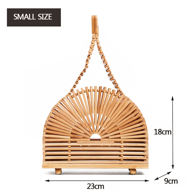 Luxury handbags women bamboo top handle 3