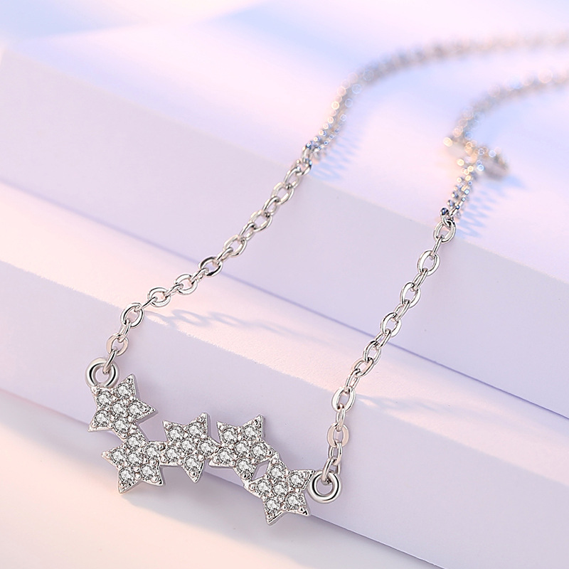 five star choker necklaces (2)