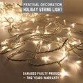 Романтические цветные огни  рождественские  свадебные  праздничные  декоративные  светодиодные  многоцветные  светящиеся  50 м  светящиеся  м...