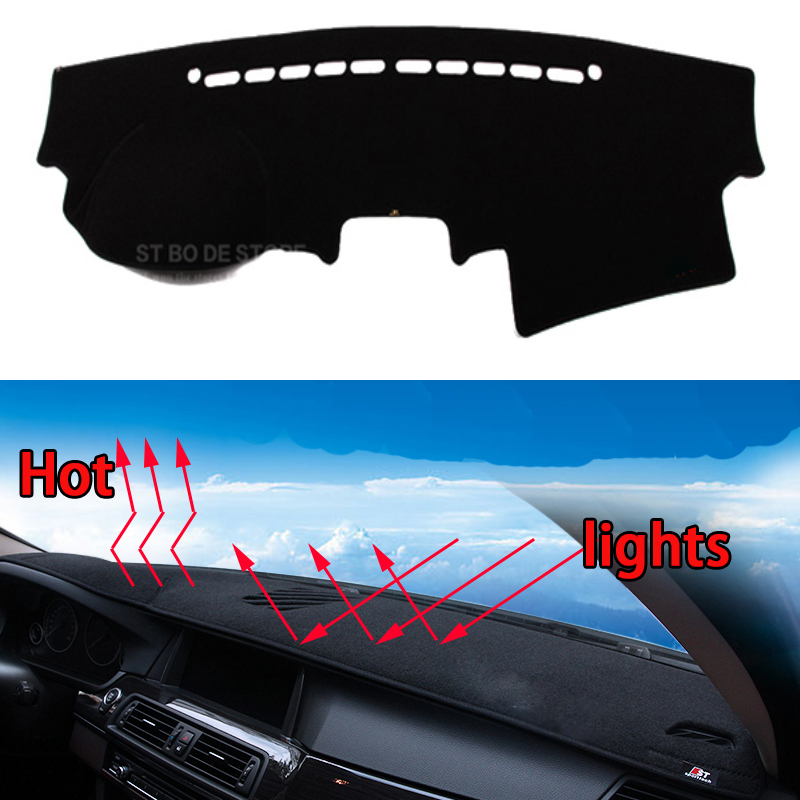 Car dashboard Avoid light pad Instrument platform desk cover Mats Carpets Auto accessories car styling for KIA Sorento special car trunk mats for toyota all models corolla camry rav4 auris prius yalis avensis 2014 accessories car styling auto