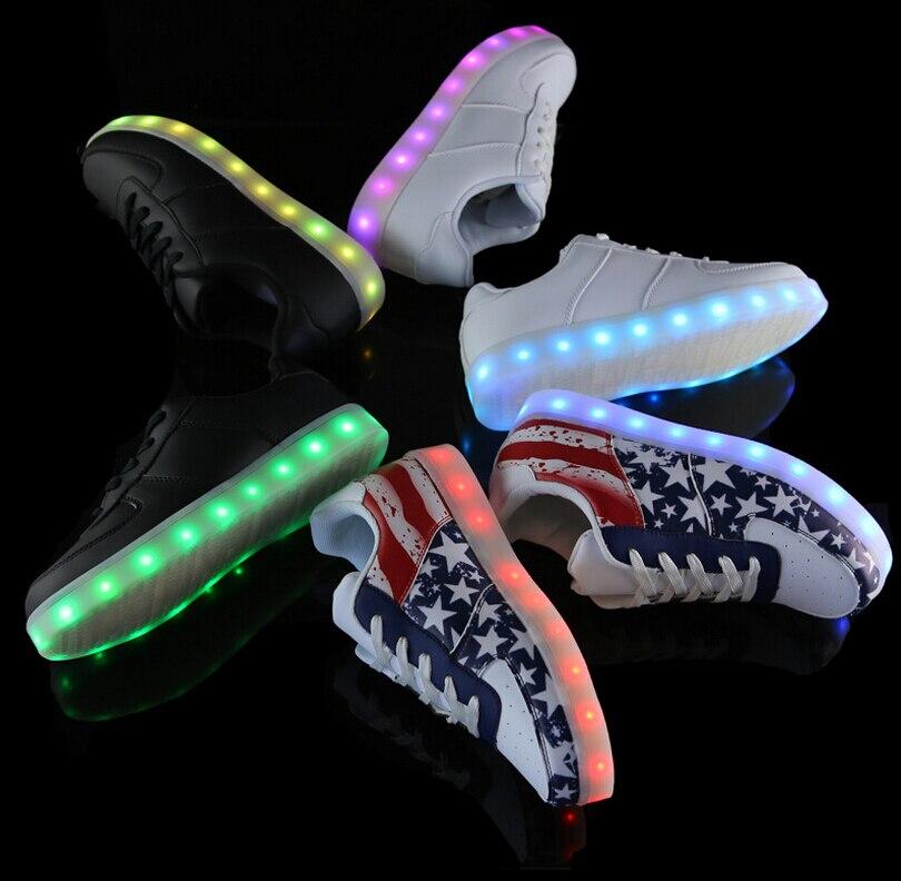 nike chaussure lumiere
