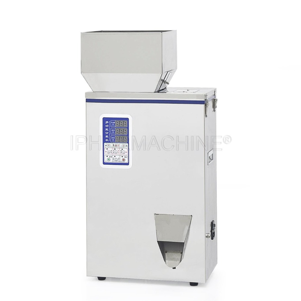 (220V/110V)1-500g Racking Machine for Powder and Particle, FZZ-5 Type Dispensing Machine 1 50g particle subpackage device filling machine fzz 1