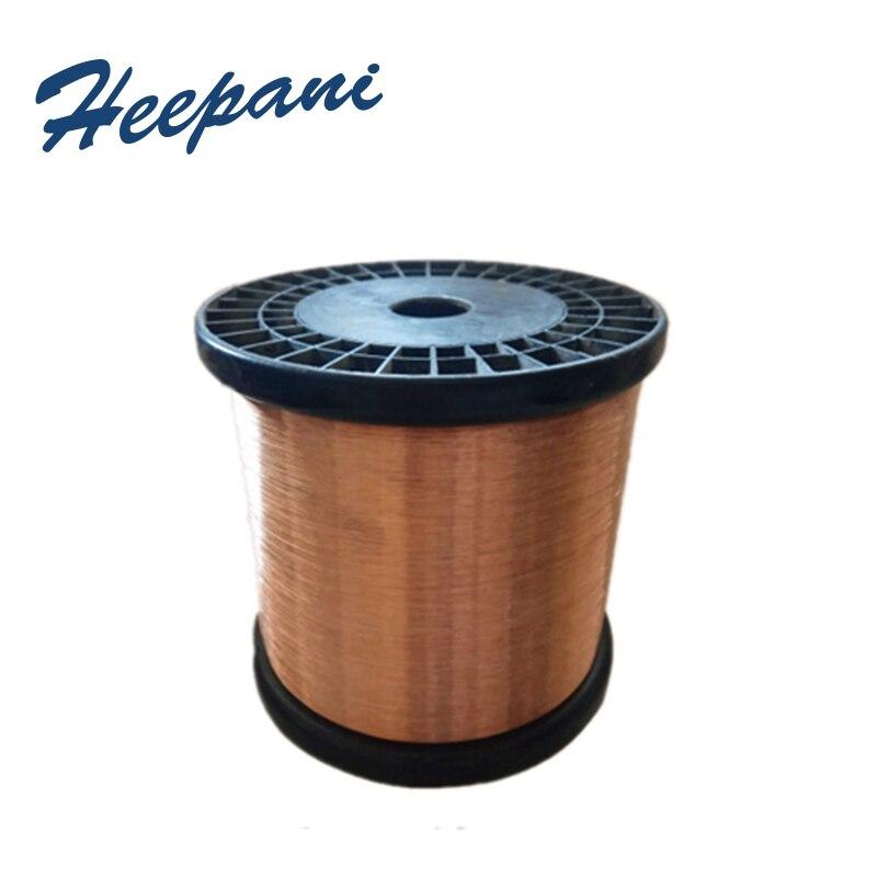 Free Shipping T2 Copper Wire Diameter 0.1mm - 2mm Bare Copper Silk Electric & Thermal Conductive Cu Metal