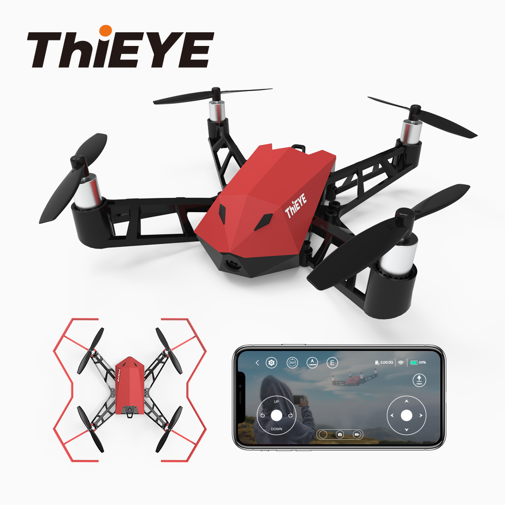 Punctual Thieye Dr.x Mini Drone With Camera Hd 1080p Camera App Rc High Lever Flight Stability Quadcopter Pocket Drone Mild And Mellow