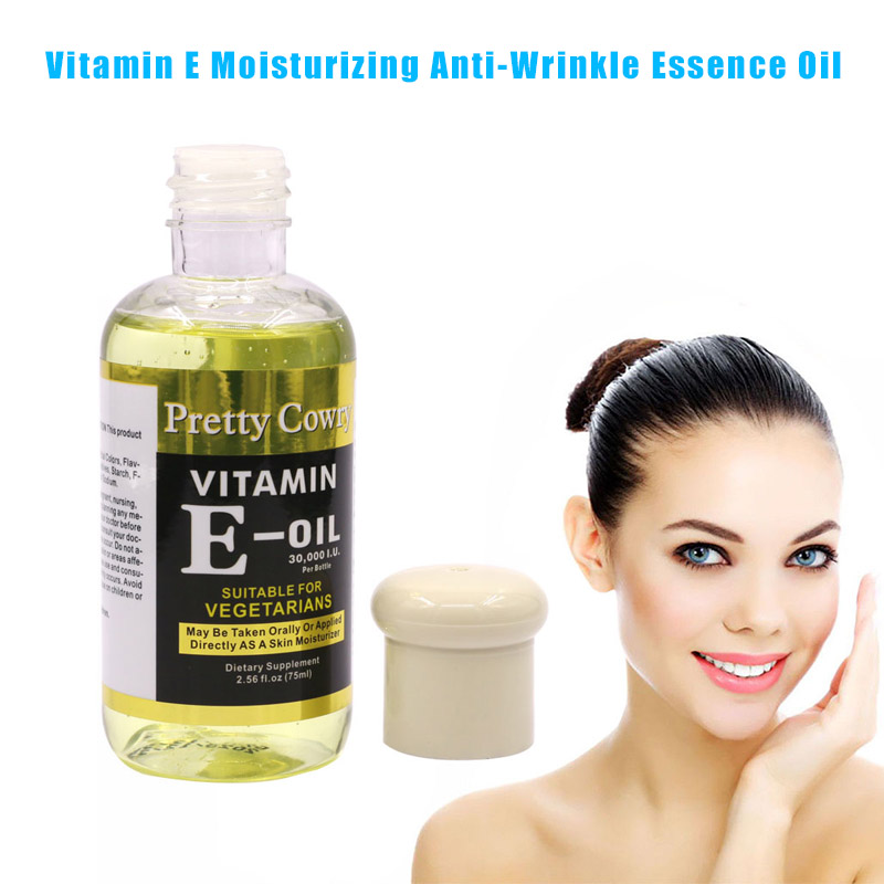 Vitamin E Face Essence Moisturizing Whitening Firming Anti-wrinkle 75ml Skin Care HB88