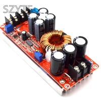 New 1200W High Power DC DC Boost Constant Voltage And Constant Current Adjustable Vehicle Charging Power