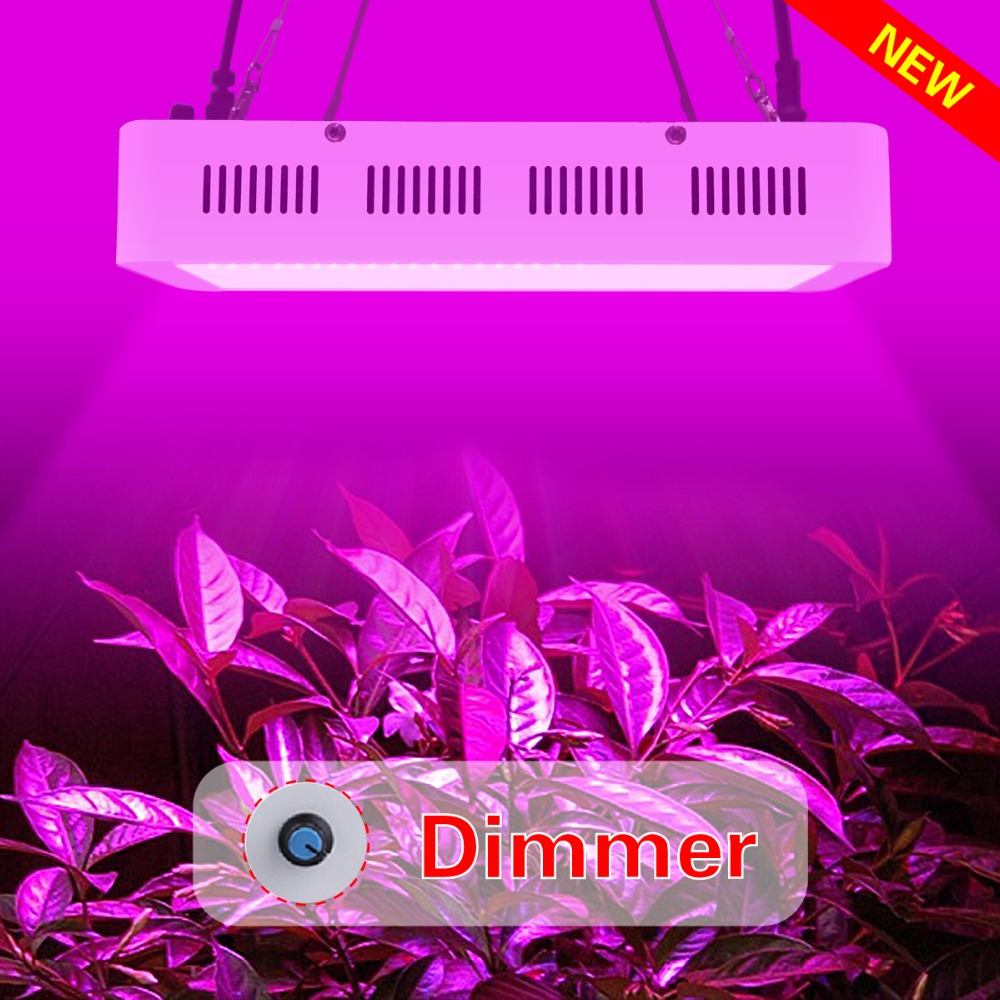180W LED Dimmer grow light Dimming lamp Dimmable control Flower plant Greenhouse cultivation UV IR 3W growth chip 100-240VAC