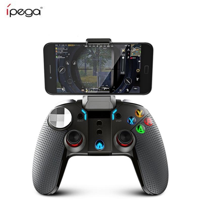 Ipega PG-9099 Wireless Bluetooth Gamepad PG 9099 Gaming Controller Joystick Dual Motor Turbo Gamepads For Windows Android Phone цена