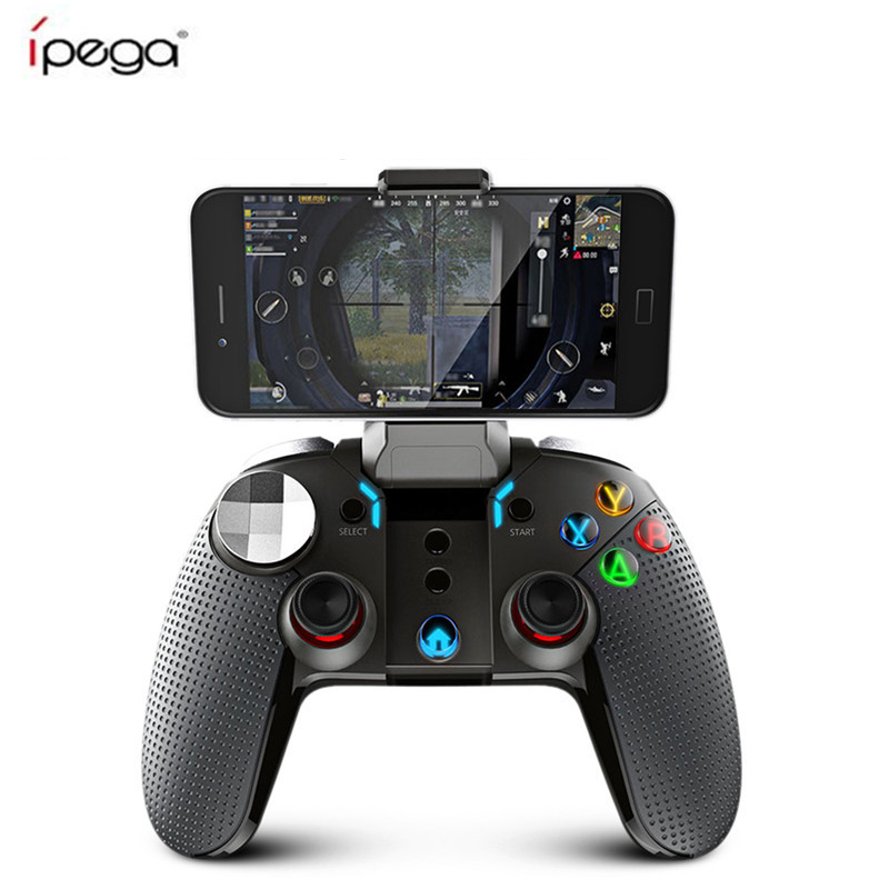Ipega PG-9099 Wireless Bluetooth Gamepad PG 9099 Gaming Controller Joystick Dual Motor Turbo Gamepads para Windows Android Phone