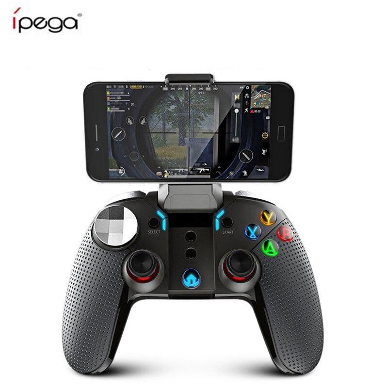 PG-9099 Ipega PG 9099 Controlador de Jogos Sem Fio Bluetooth Gamepad Joystick Gamepads Dupla Motor Turbo Para Windows Android Telefone