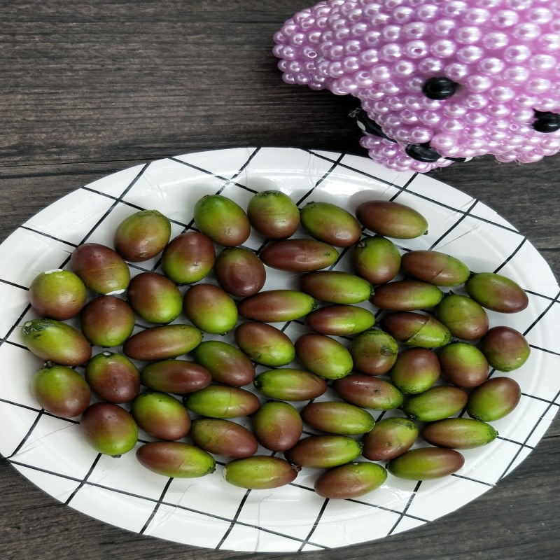 10 Pcs Artificial Simulation Lotus Seed Fruit Decoration Wedding Ornaments Decoration Family Kitchen Table DIY Fruit Basket
