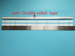 Image 1 - 20 piezas x 32 pulgadas placa de aluminio tiras LED con lente óptica Fliter Panel de TV lámparas de contraluz longitud 61,5 cm envío gratis