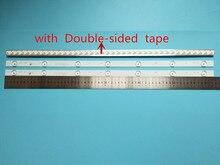 20Pcs X 32 Inch Aluminium Plaat Led Strips W/Optische Lens Fliter Tv Panel Backlight Lampen Lengte 61.5cm Gratis Verzending