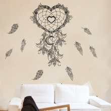 Wall-Stickers Mural Art Bedroom Decoration Dream Catcher Living-Room Indian-Style Office