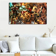 Spider Iron Man Thor Captain America Black Widow Marvels Comics Art Canvas Poster Painting Wall Picture Print Home Bedroom Decor майка print bar black widow