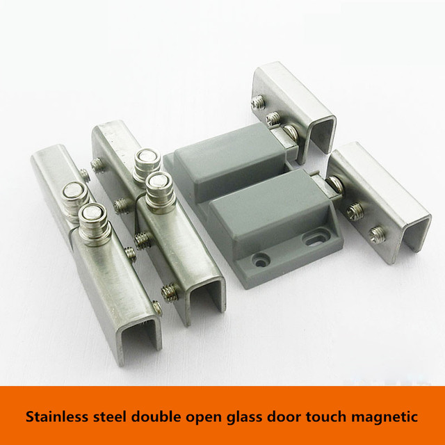 Stainless steel glass door clamp magnetic magnetic touch glass stainless steel glass door clamp magnetic magnetic touch glass beads under suction touch glass door hinge planetlyrics Image collections