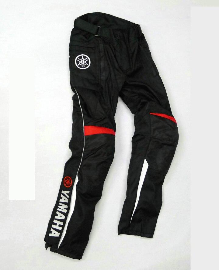 MotoGP профессиональные спортивные брюки для Yamaha команды Зимние мотоциклетные защитные брюки для верховой езды Мотокросс брюки с протекторам...