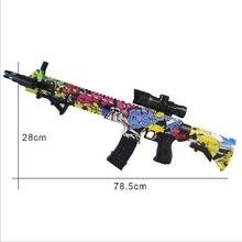 AK 47 пластиковые игрушки M4 игрушечный пистолет гель-шарик бластер Снайпер для детей на открытом воздухе Хобби DIY игрушечное оружие 2 режима страйкбол воздушного Пистолеты