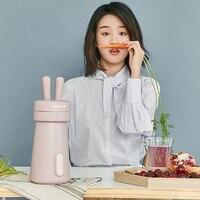 2019 Новый Joyoung прибор для приготовления соевого молока Симпатичный мини белый/розовый Машина Soymilk 300 мл один человек блендер